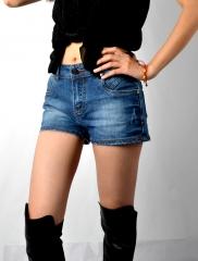 欧款广式女装时尚休闲性感牛仔短裤